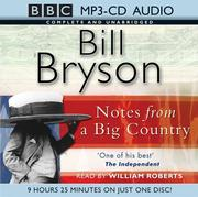 Cover of: Notes from a Big Country