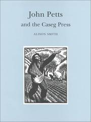Cover of: John Petts and the Caseg Press