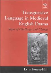 Cover of: Transgressive language in medieval English drama
