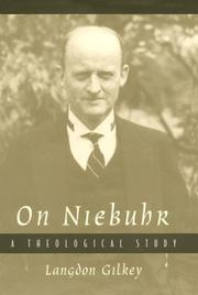 Cover of: On Niebuhr | Langdon Gilkey