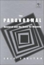 Cover of: The paranormal