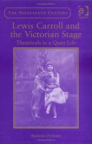 Cover of: Lewis Carroll And The Victorian Theatre