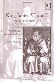 Cover of: King James VI and I