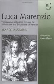 Cover of: Luca Marenzio