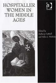 Cover of: Hospitaller women in the Middle Ages
