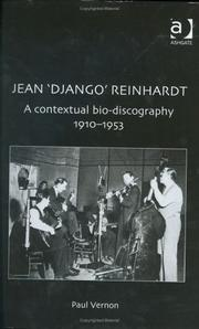 Cover of: Jean 'Django' Reinhardt