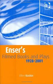 Cover of: Enser's filmed books and plays | Ellen Baskin