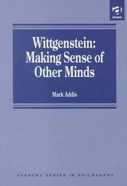 Cover of: Wittgenstein