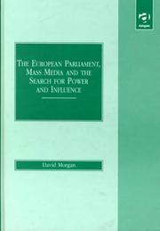 Cover of: The European Parliament, mass media, and the search for power and influence