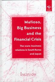 Cover of: Mafioso, big business and the financial crisis