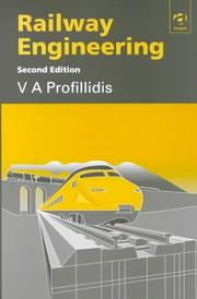 Cover of: Railway engineering | V. A. Profillidis