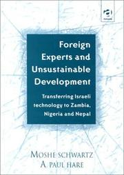 Cover of: Foreign experts and unsustainable development