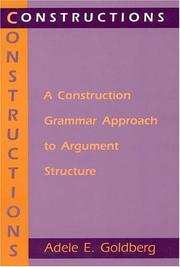 Cover of: Constructions