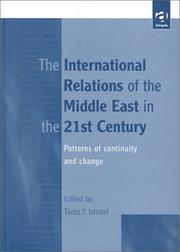 Cover of: The international relations of the Middle East in the 21st century |
