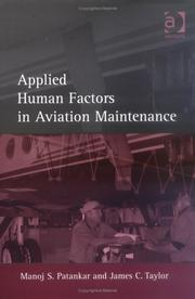 Cover of: Applied Human Factors In Aviation Maintenance | Manoj S. Patankar