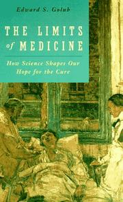 Cover of: The limits of medicine
