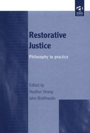 Cover of: Restorative justice |