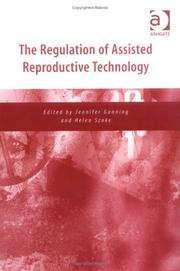 Cover of: The Regulation of Assisted Reproductive Technology |