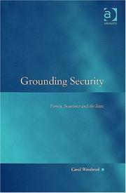 Cover of: Grounding Security | Carol Weisbrod