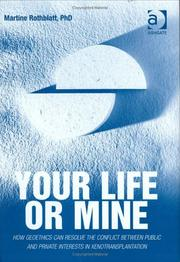 Cover of: Your life or mine