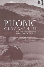 Cover of: Phobic Geographies | Joyce Davidson