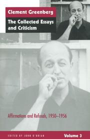 Cover of: The Collected Essays and Criticism, Volume 3