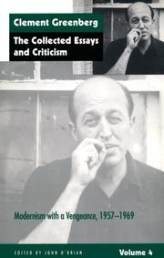 Cover of: The Collected Essays and Criticism, Volume 4