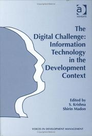 Cover of: The Digital Challenge |
