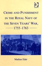 Cover of: Crime and punishment in the Royal Navy of the Seven Years