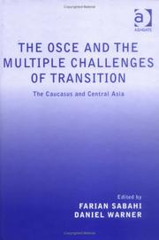 Cover of: The Osce and the Multiple Challenges of Transition |