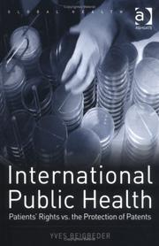 Cover of: International Public Health