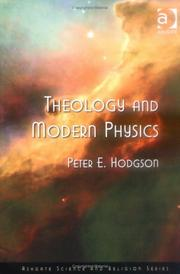 Cover of: Theology and modern physics