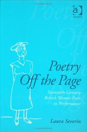 Cover of: Poetry off the page