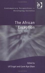 Cover of: The African exception