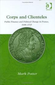 Cover of: Corps and Clienteles | Mark Potter