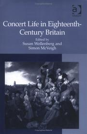 Cover of: Concert Life in Eighteenth-Century Britain |