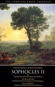 Cover of: The Complete Greek Tragedies | Sophocles
