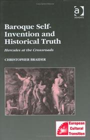 Cover of: Baroque Self-Invention and Historical Truth | Christopher Braider