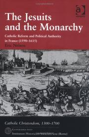 Cover of: Jesuits and the Monarchy