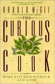Cover of: The curious cook