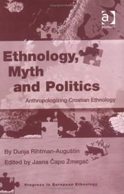 Cover of: Ethnology, myth and politics