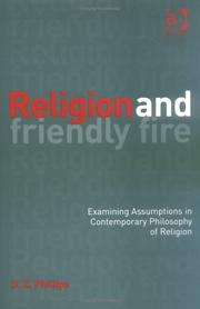 Cover of: Religion and Friendly Fire