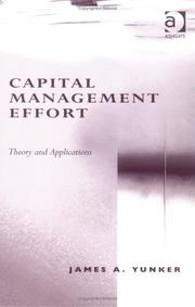 Cover of: Capital Management Effort