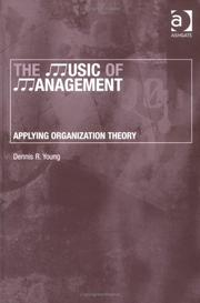 Cover of: The Music of Management
