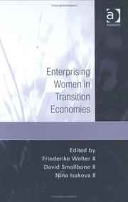 Cover of: Enterprising women in transition economies |