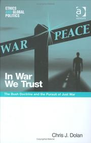 Cover of: In War We Trust