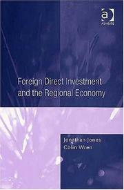 Cover of: Foreign direct investment and the regional economy