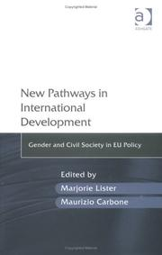 Cover of: New pathways in international development |