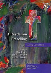 Cover of: A Reader on Preaching |