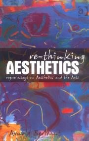 Cover of: Re-thinking Aesthetics